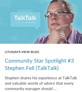 Community Star Spotlight