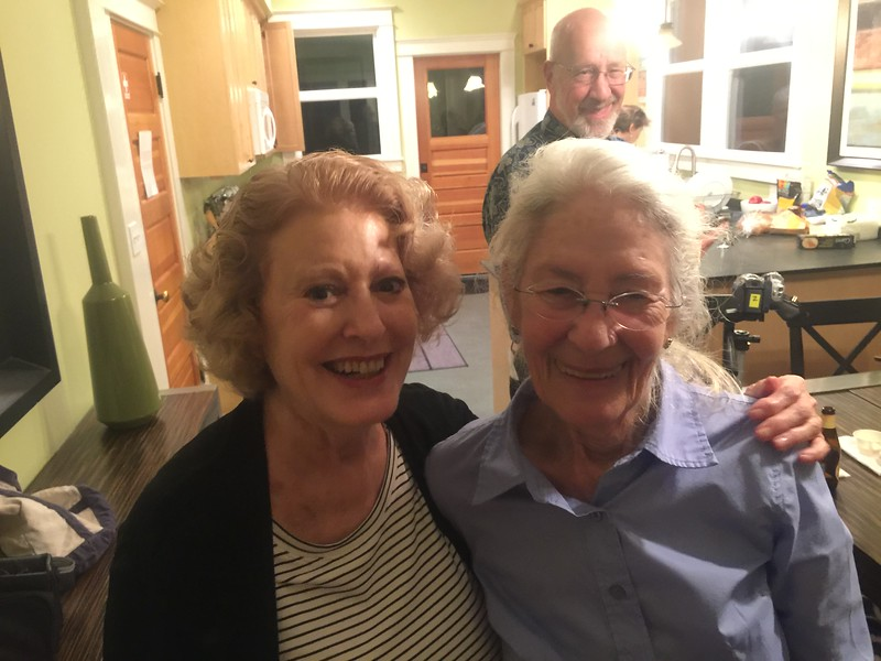 Diana Zykofsky Anhalt and Linda Oppen