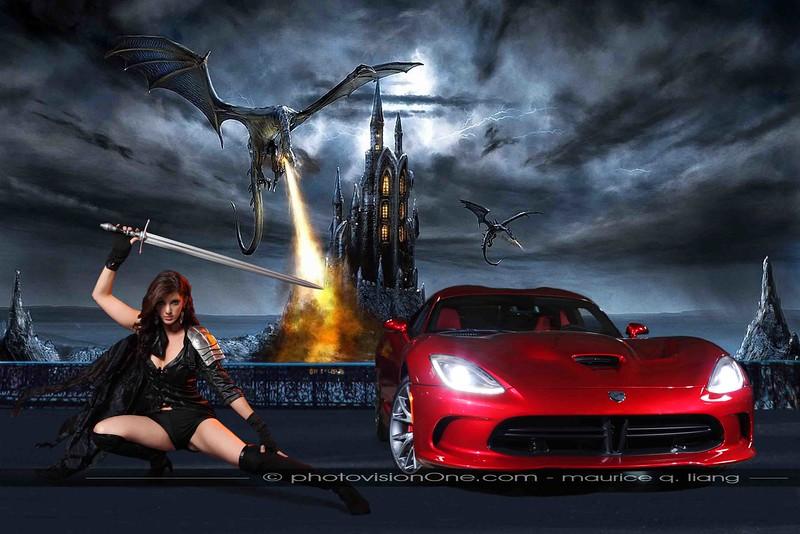 Dragon Fighter:  2013 Stryker Red Viper.  Model:  Daneen