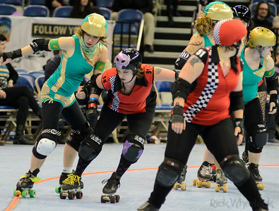 Betties v High Rollers 1/19