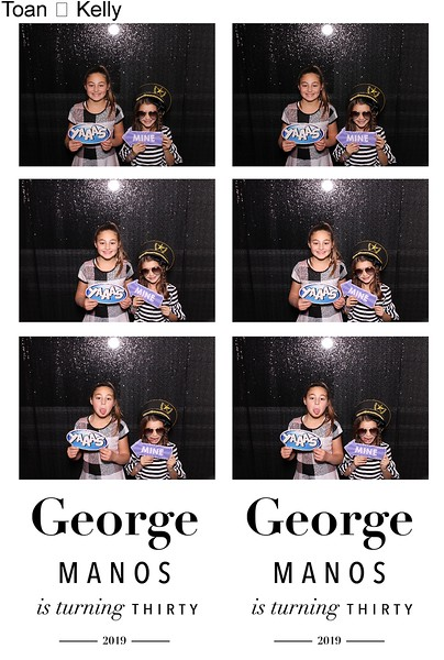 George's 30th Birthday Party (11/22/19)