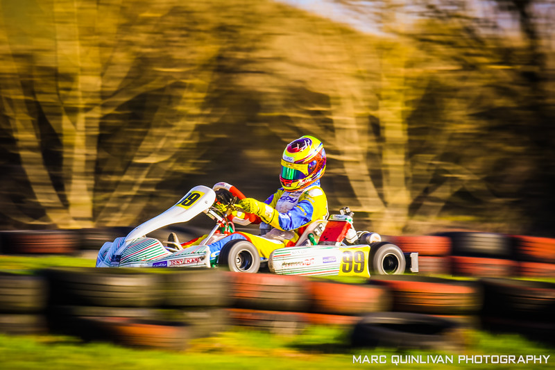 Leinster Karting Club - 2019/20 Winter Championship - Round 4 - Alyx Coby