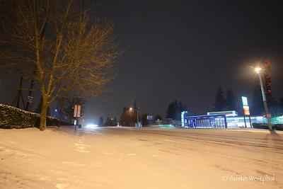 Night Time Snow Photos