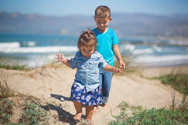 Colton and Addison, Beach Session