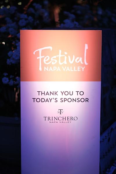Patron Dinner at Trinchero Napa Valley