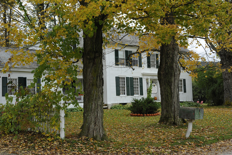 Former home of Norman Rockwell.  It is now a bed and breakfast.