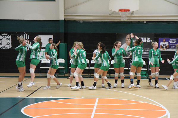 2013-Oct JV Green Volleyball