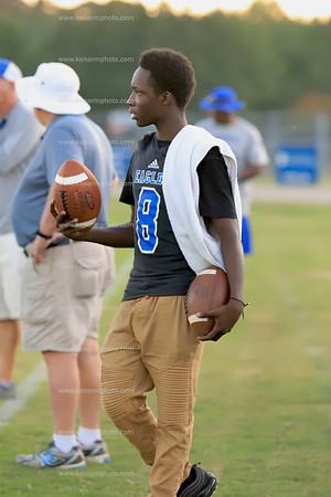East Bladen 19 Clinton jv football