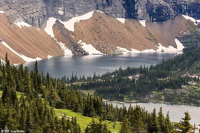 Logan Pass Area - Sunrift Gorge, Baring Falls, Hidden Lake, St Mary's Falls