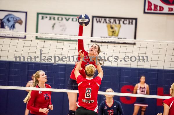 Volleyball SHS vs SFHS 9-30-2014