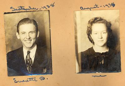 1938-39 Louise & Everett Dating