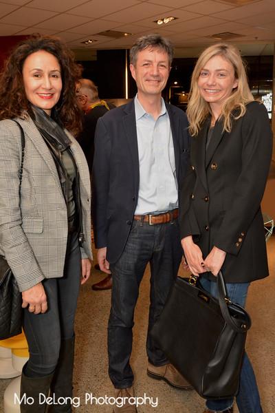 Maryam Monsef, Jaques Callies and Ingrid Ternynck