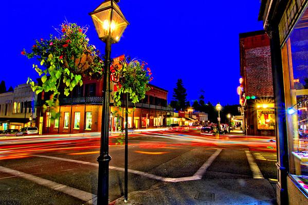 Nevada City & Grass Valley ~ Night Scenes