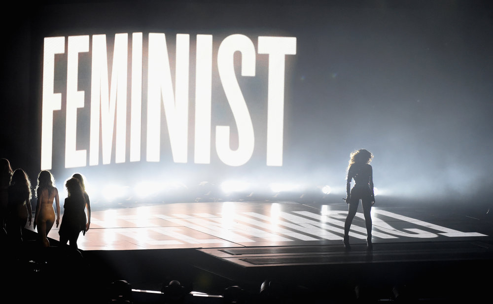 . Honoree Beyonce performs onstage during the 2014 MTV Video Music Awards at The Forum on August 24, 2014 in Inglewood, California.  (Photo by Michael Buckner/Getty Images)