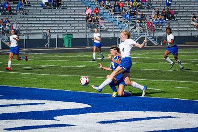 DHS Girls Soccer 10-08-2016