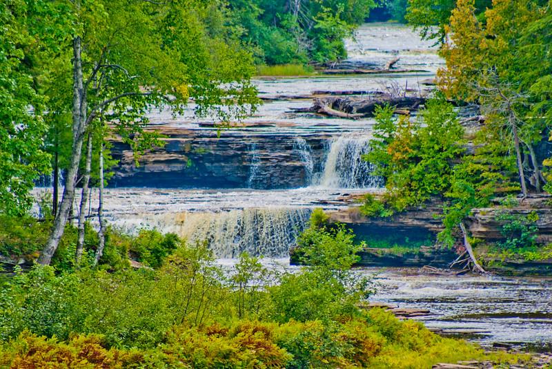 Tahquamenon Lower Falls in Northern Michigan