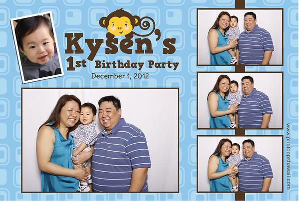 Kysen's 1st Birthday (Fusion Portraits)