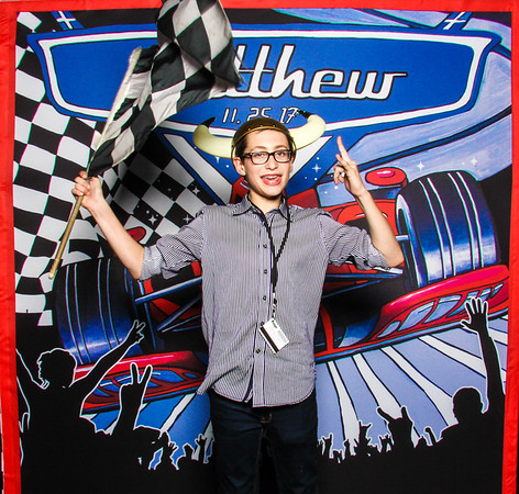 Matthew's Car Racing Bar Mitzvah