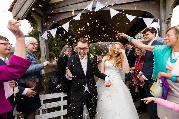 Emily & Matt's Wedding - Stoke Place