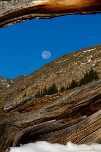 Full Moon over Holy Cross Ridge, CO.