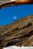 Full Moon over Holy Cross Ridge, CO.