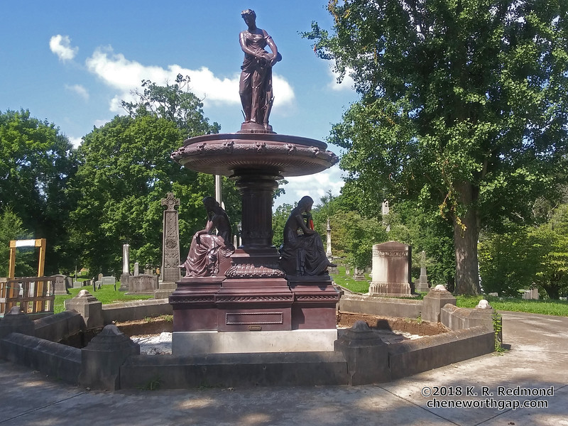 The New Albers Memorial Fountain
