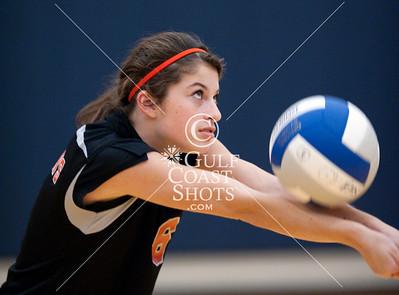 2009-10-19 Volleyball Girl JV SJS at EHS
