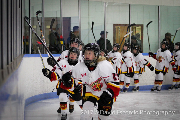 Flames vs Durham West Game 1 Orono