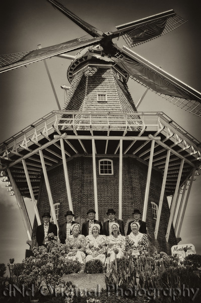021a It's Tulip Time In Holland Every Year In May 2009 - Moederleet Singing Group By DeZwaan Windmill (antique).jpg