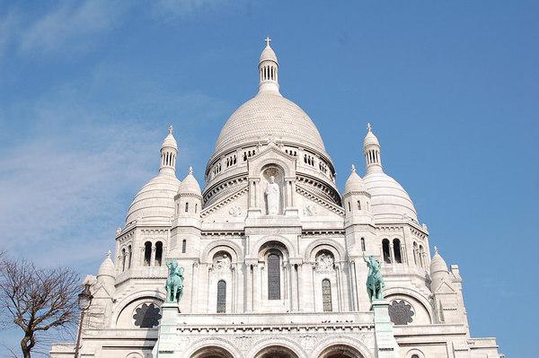 Paris - Montmartre and Notre Dame