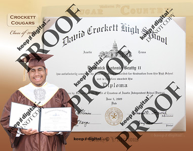 2012 Crockett Keedjit™ Diploma Proof Photos