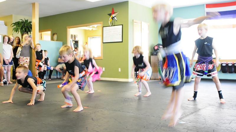 Ninjas & Juniors Belt Testing 7/30/2011