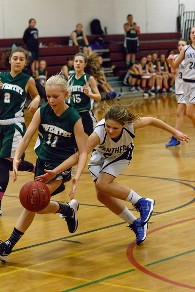 Lebanon Middle School Girls Basketball vs. Coventry