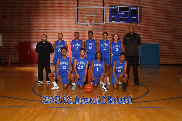 2018-2019  Basketball Boys