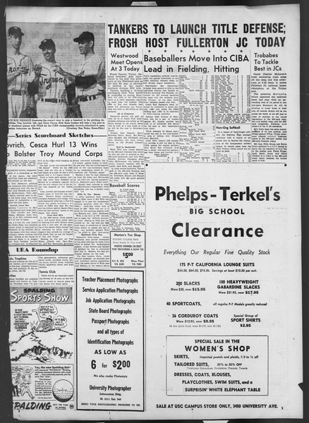 Daily Trojan, Vol. 42, No. 132, May 17, 1951