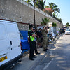 Workers employed within the Ministry of Defence in Gibraltar condemned the Ministry of Defence of provoking tensions after a photographer was present outside the gates of the British Naval Base during a union walk out.
