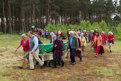 Frances Ripley's Funeral June 2014