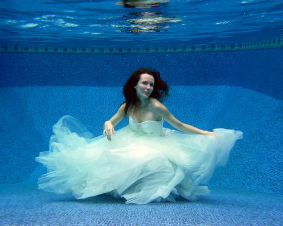 Submersed Bride