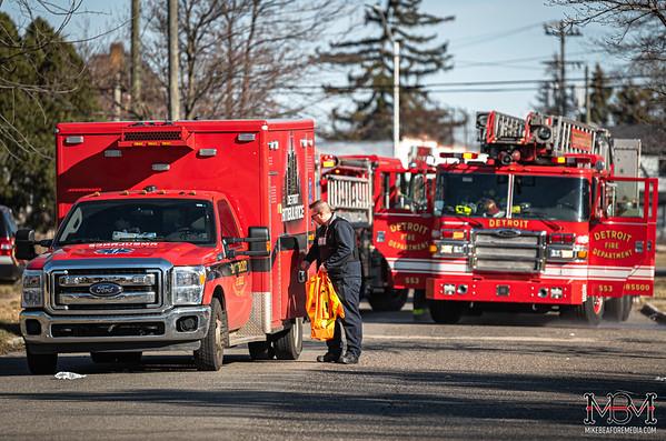 Detroit MI, House Fire 3-15-2020