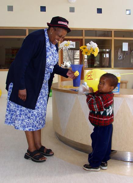 Theresa, Carl Sichole HIV Family Center  - JB/SA