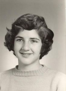 Joanie in High School and in the 70s