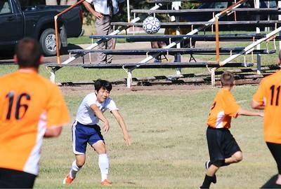 Boys Soccer vs St. John's 2013