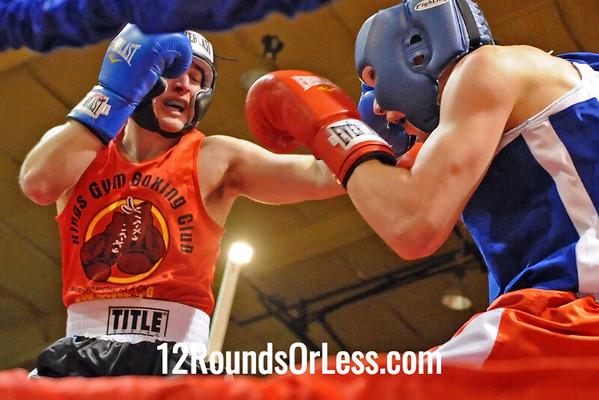 Bout 10 KC Austen, Strongstyle/Old School -vs- Dustin Kaplan, King's Gym, 152 lbs, Sub-Novice