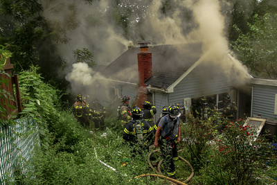 8-23-2021 Structure Fire, 51 Dogwood Road Photos By Bob Rimm