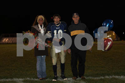 Knoxville Senior Night 10/23/09