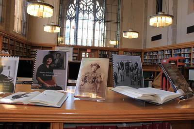 Barbara Babcock '63 Library Exhibit