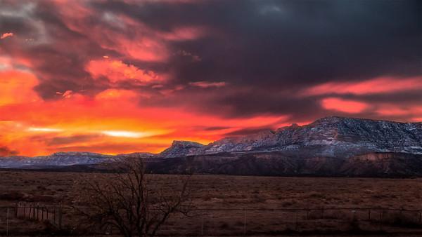 December in Utah Canyons