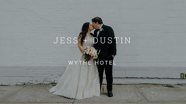 JESS + DUSTIN ////// WYTHE HOTEL