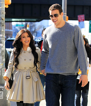 2011-03-27 - Kim Kardashian and Kris Humphries