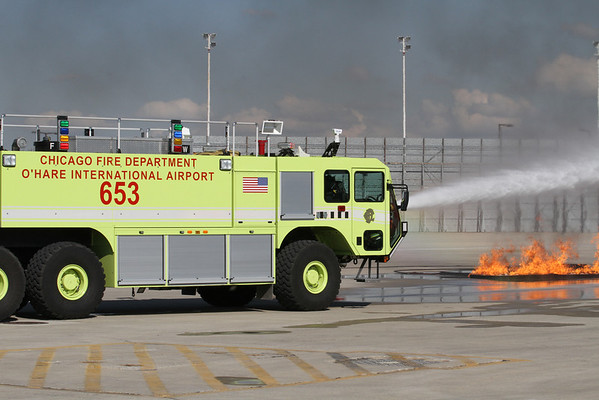 Disaster Drill O'Hare Airport September 17, 2011